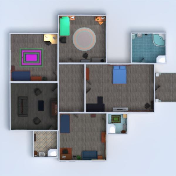 floorplans casa muebles cuarto de baño dormitorio salón cocina exterior habitación infantil hogar comedor 3d
