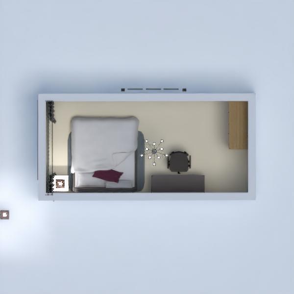floorplans casa muebles dormitorio 3d