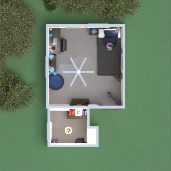 планировки мебель спальня детская освещение прихожая 3d