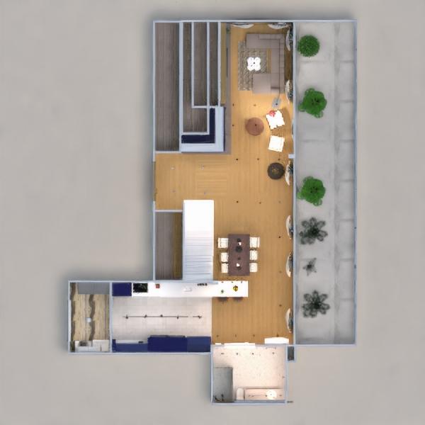 floorplans wohnung dekor küche beleuchtung esszimmer architektur eingang 3d