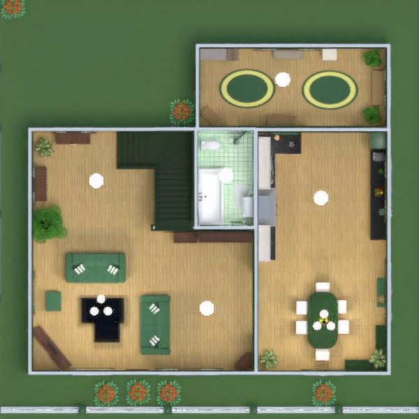 floorplans дом мебель декор ванная спальня гостиная кухня освещение столовая архитектура прихожая 3d