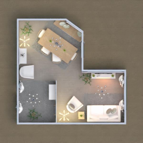 floorplans saggiorno sala pranzo 3d