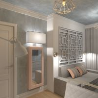 floorplans apartamento muebles decoración dormitorio salón despacho 3d