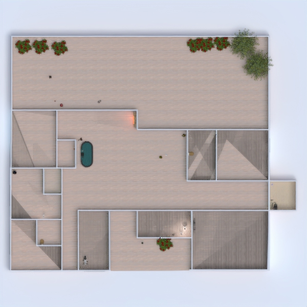 floorplans apartamento casa mobílias decoração casa de banho 3d