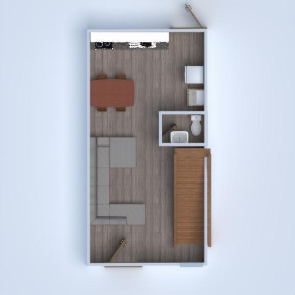 floorplans casa angolo fai-da-te saggiorno cucina sala pranzo 3d