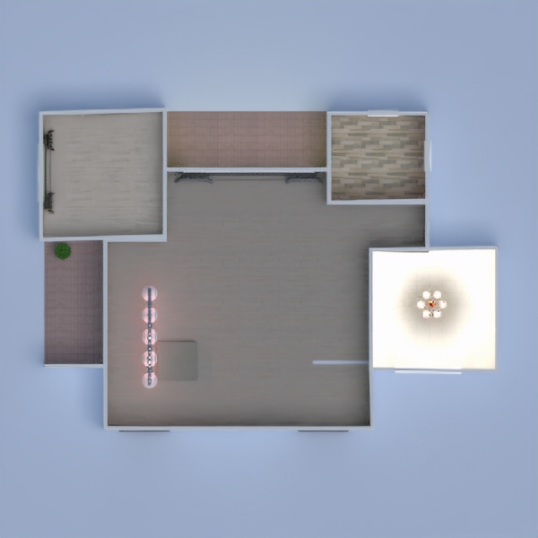 floorplans haus terrasse mobiliar badezimmer schlafzimmer 3d