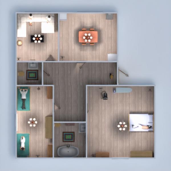 floorplans mieszkanie dom łazienka sypialnia 3d