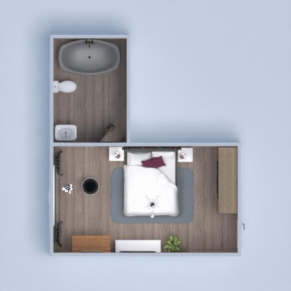 планировки квартира мебель 3d