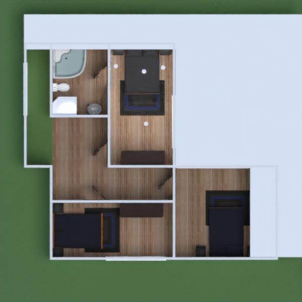 планировки дом терраса мебель улица освещение 3d