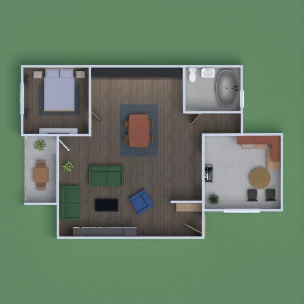 progetti casa camera da letto architettura 3d