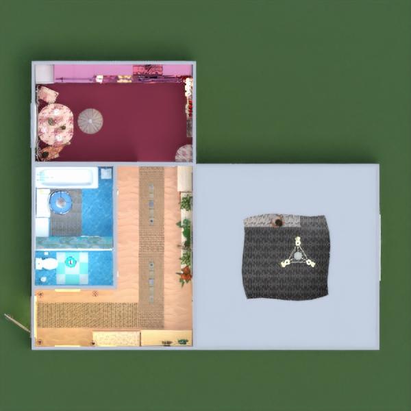 floorplans butas baldai dekoras pasidaryk pats vonia miegamasis svetainė virtuvė apšvietimas namų apyvoka sandėliukas prieškambaris 3d