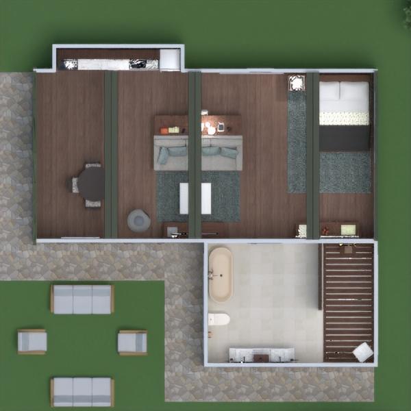 floorplans casa mobílias paisagismo arquitetura 3d
