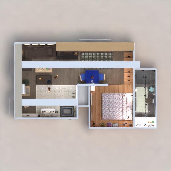 floorplans wohnung mobiliar dekor do-it-yourself badezimmer schlafzimmer wohnzimmer küche büro beleuchtung renovierung haushalt esszimmer lagerraum, abstellraum studio eingang 3d
