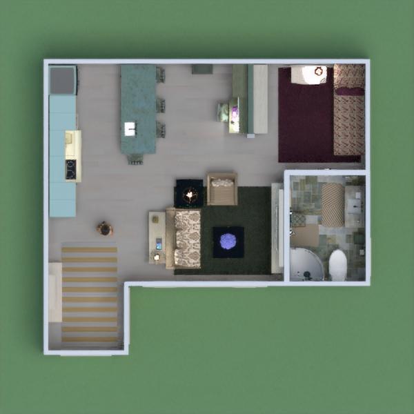 floorplans apartamento muebles 3d