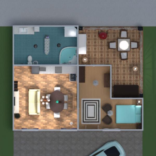 floorplans butas namas terasa baldai dekoras pasidaryk pats vonia miegamasis svetainė virtuvė eksterjeras apšvietimas kraštovaizdis namų apyvoka valgomasis аrchitektūra studija 3d