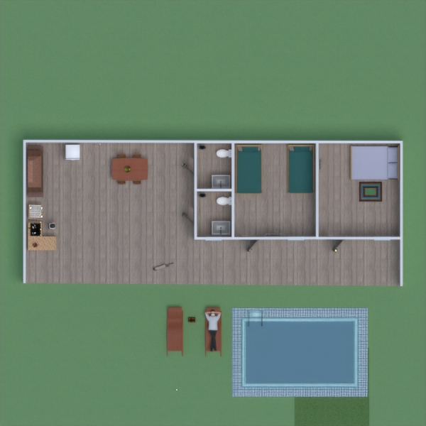 floorplans terrace 3d