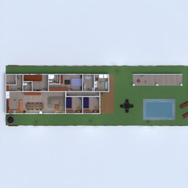 floorplans casa terraza muebles decoración bricolaje cuarto de baño dormitorio salón garaje cocina exterior habitación infantil iluminación hogar comedor arquitectura 3d
