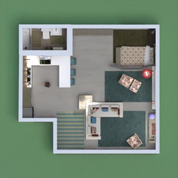 floorplans dekor küche 3d