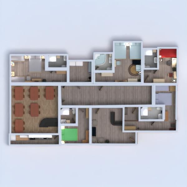 floorplans baldai miegamasis renovacija valgomasis аrchitektūra 3d