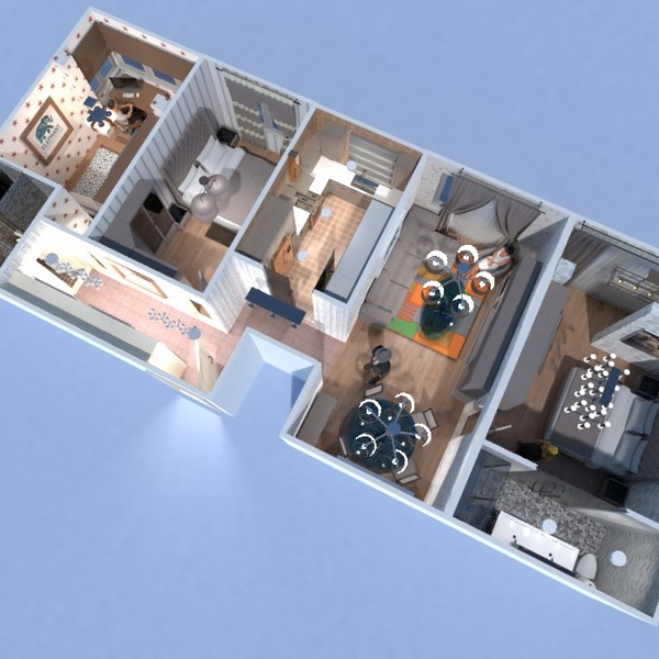 floorplans apartment 3d