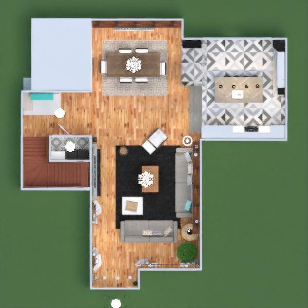 floorplans дом терраса мебель декор ванная спальня гостиная кухня улица освещение ремонт ландшафтный дизайн техника для дома столовая архитектура хранение прихожая 3d
