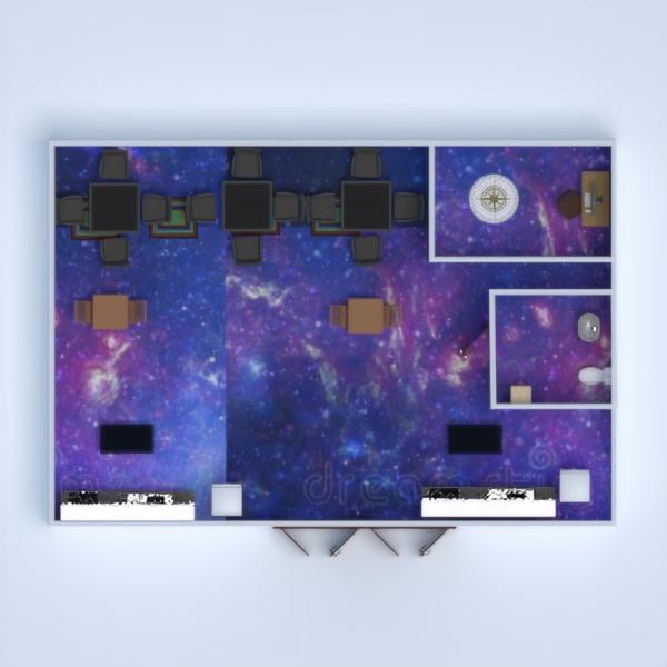 planos cuarto de baño cocina despacho comedor descansillo 3d