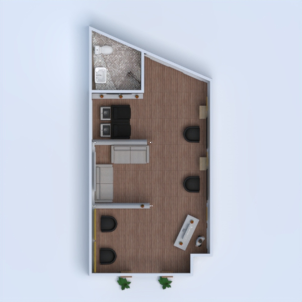 floorplans salon studio 3d