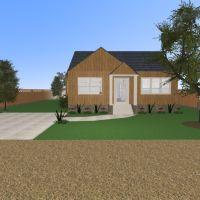 floorplans haus terrasse dekor wohnzimmer küche outdoor landschaft architektur eingang 3d