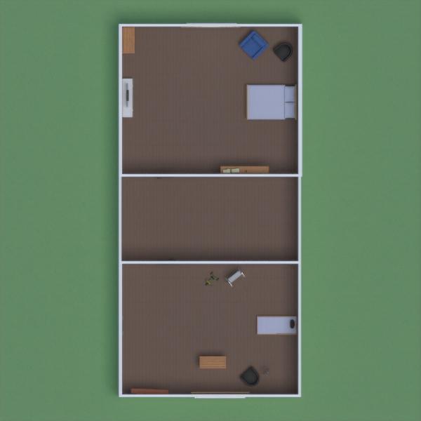 floorplans haus mobiliar wohnzimmer küche kinderzimmer 3d