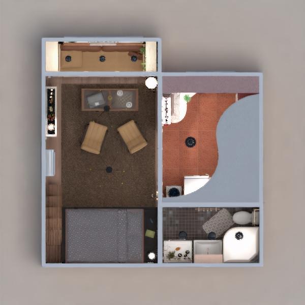floorplans apartamento muebles decoración bricolaje cuarto de baño salón cocina iluminación estudio 3d