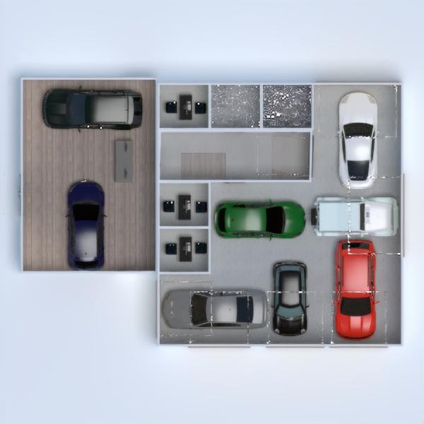 floorplans garagem 3d