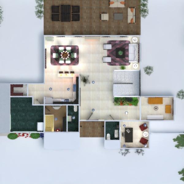 floorplans namas terasa baldai dekoras vonia miegamasis svetainė garažas virtuvė eksterjeras biuras apšvietimas kraštovaizdis namų apyvoka valgomasis аrchitektūra 3d
