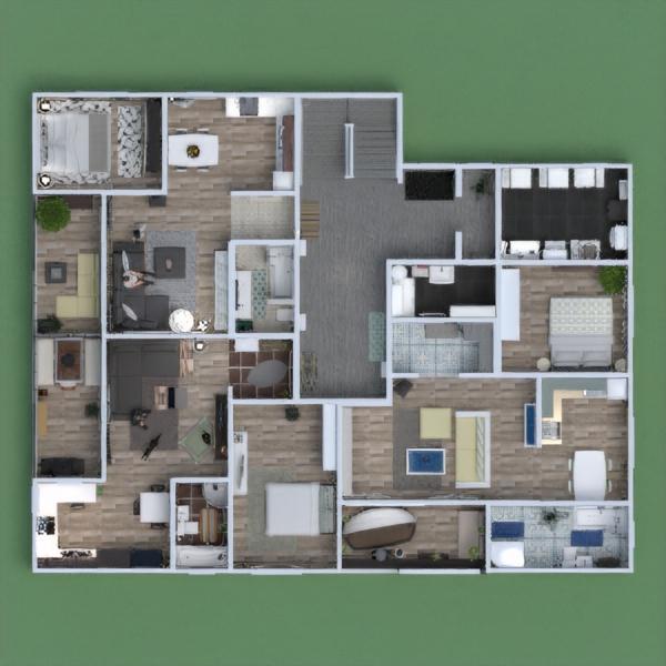 floorplans apartamento casa muebles bricolaje cuarto de baño 3d