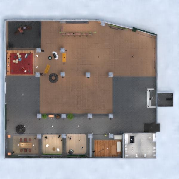 floorplans dekoras kavinė studija 3d