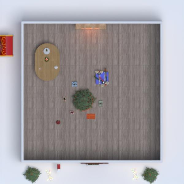 планировки дом гостиная 3d
