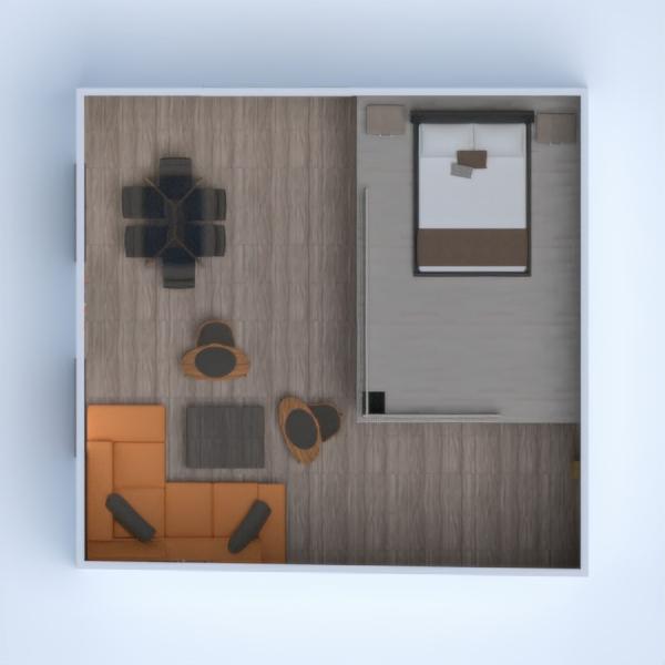 floorplans maison meubles salle de bains cuisine salle à manger 3d