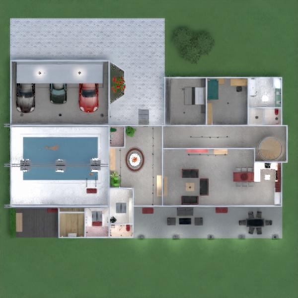 floorplans appartamento casa veranda arredamento decorazioni bagno camera da letto saggiorno garage cucina esterno cameretta illuminazione sala pranzo architettura vano scale 3d