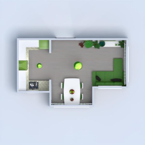 floorplans decor living room kitchen renovation 3d