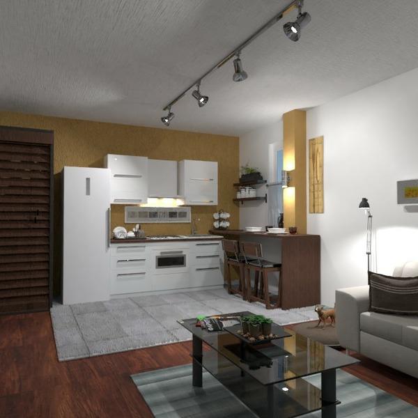 планировки квартира спальня гостиная кухня хранение 3d