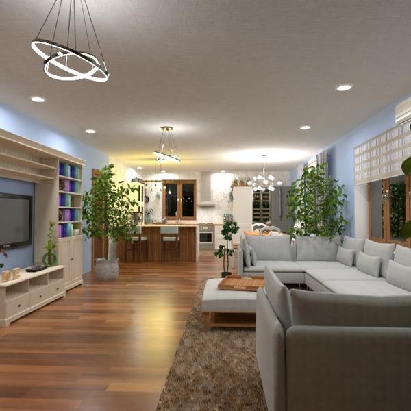 floorplans casa terraza decoración exterior iluminación 3d