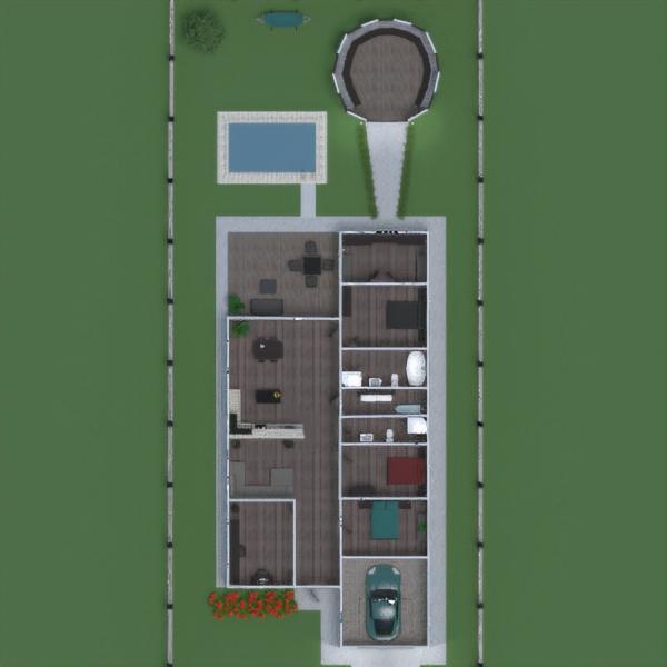 floorplans house terrace bathroom bedroom living room garage kitchen outdoor household dining room architecture storage entryway 3d