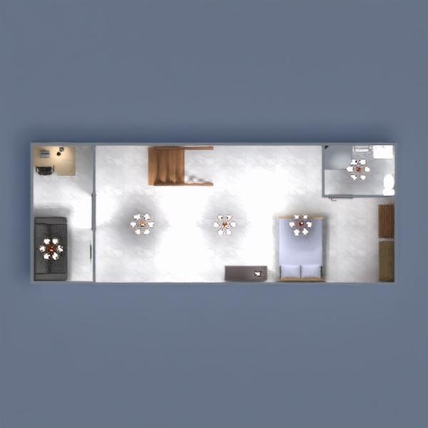 планировки ванная спальня гостиная кухня столовая 3d