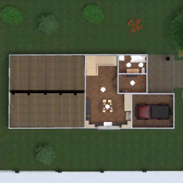 floorplans dom taras meble wystrój wnętrz zrób to sam łazienka sypialnia pokój dzienny garaż kuchnia na zewnątrz jadalnia architektura przechowywanie wejście 3d
