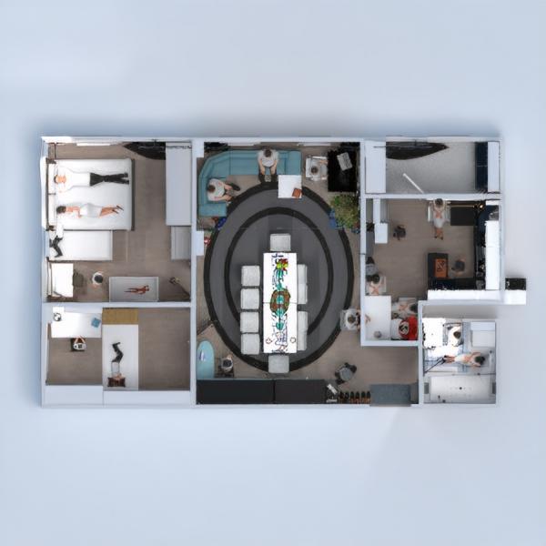 floorplans apartamento muebles bricolaje cuarto de baño dormitorio salón garaje cocina exterior habitación infantil reforma hogar trastero estudio descansillo 3d