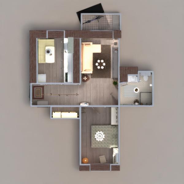 floorplans wohnung do-it-yourself badezimmer schlafzimmer wohnzimmer küche büro beleuchtung renovierung lagerraum, abstellraum eingang 3d