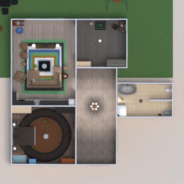 floorplans casa terraza muebles decoración bricolaje cuarto de baño dormitorio salón cocina iluminación reforma paisaje hogar arquitectura trastero descansillo 3d