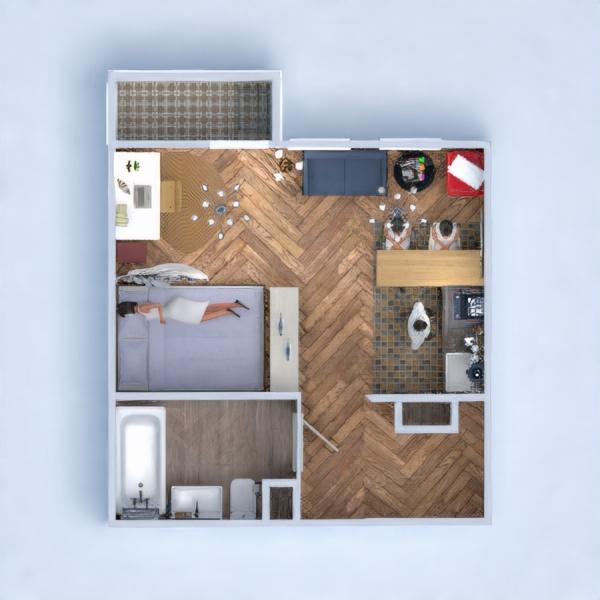 floorplans apartment diy bedroom kitchen studio 3d