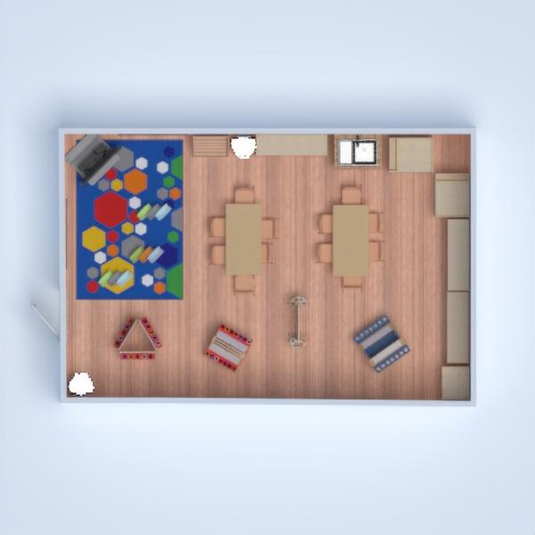 floorplans meble wystrój wnętrz pokój diecięcy mieszkanie typu studio 3d