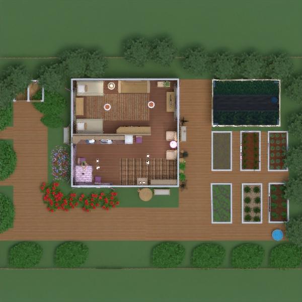 floorplans namas baldai dekoras pasidaryk pats miegamasis svetainė virtuvė apšvietimas kraštovaizdis sandėliukas 3d