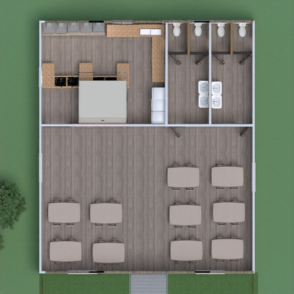 планировки кухня 3d
